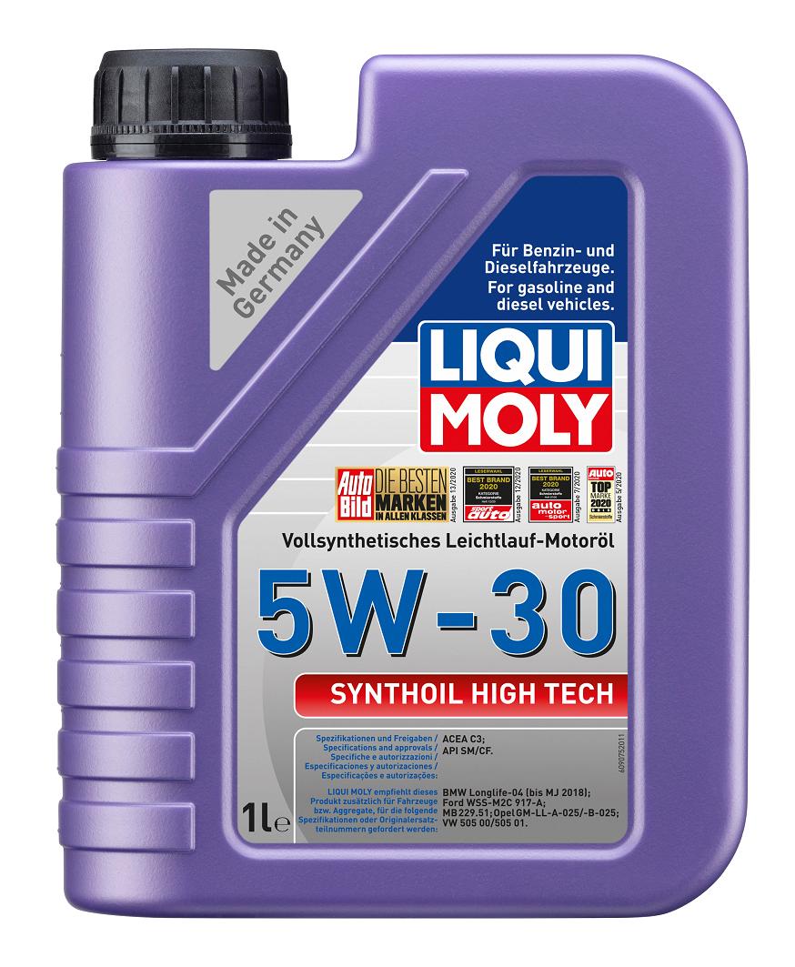 LIQUI MOLY Synthoil High Tech, 5W/30, синтетика, 1л, Германия