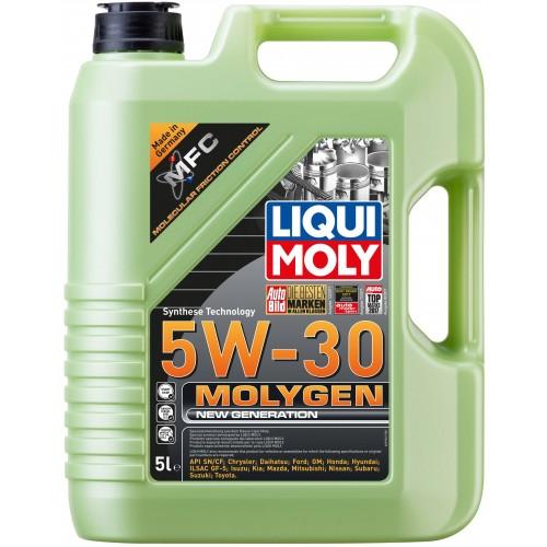 LIQUI MOLY Molygen New Generation, 5W/30, синтетика, 5л, Германия