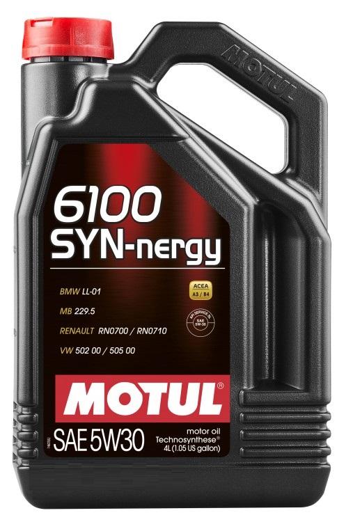 МOTUL 6100 Synergie, 5w-30, 5л АКЦИЯ, Франция