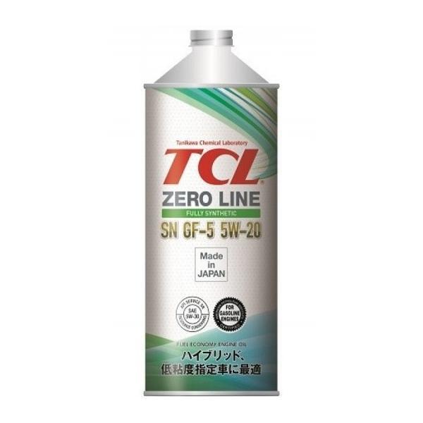 TCL Zero Line, 5W20, API SN/GF-5, моторное масло, синтетика, 1л, Япония