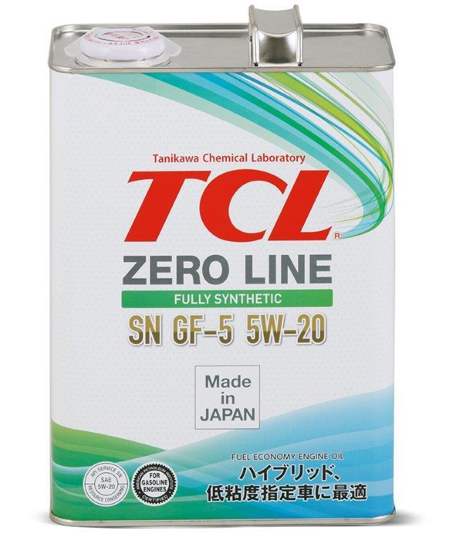 TCL Zero Line, 5W20, API SN/GF-5, моторное масло, синтетика, 4л, Япония