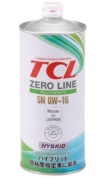 TCL Zero Line, 0W16, API SN/GF-5, моторное масло, синтетика, 1л, Япония