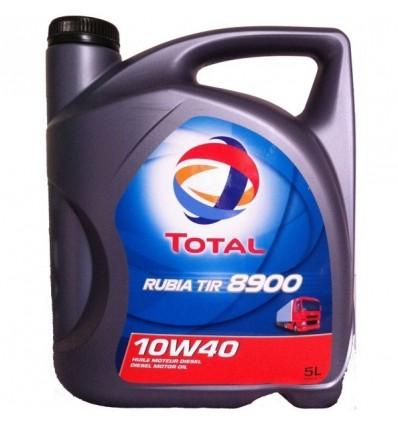 Total, Rubia Tir 8900, 10W40, для коммерческого транспорта, 5л