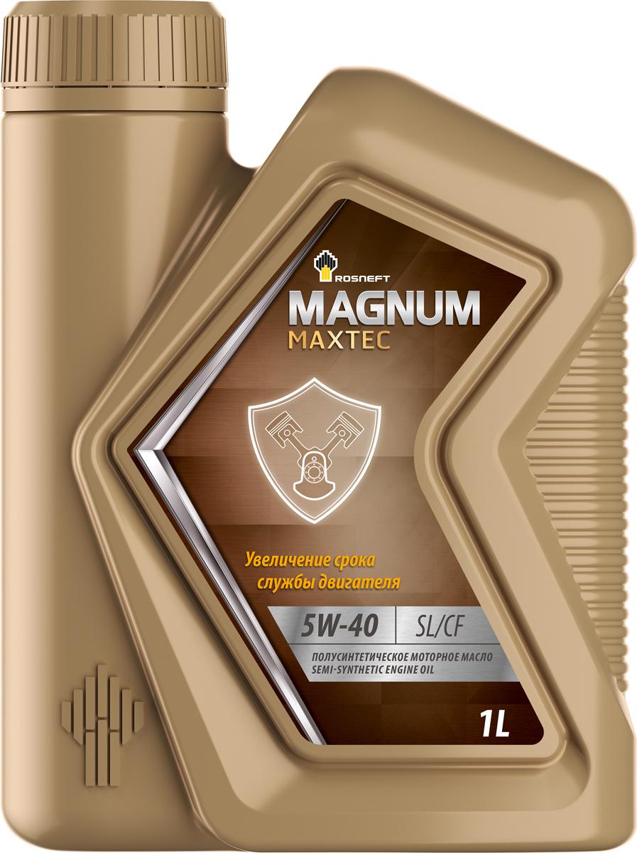 Роснефть Magnum Coldtec, 5w40 SМ/CF, синтетика, 1л, Россия