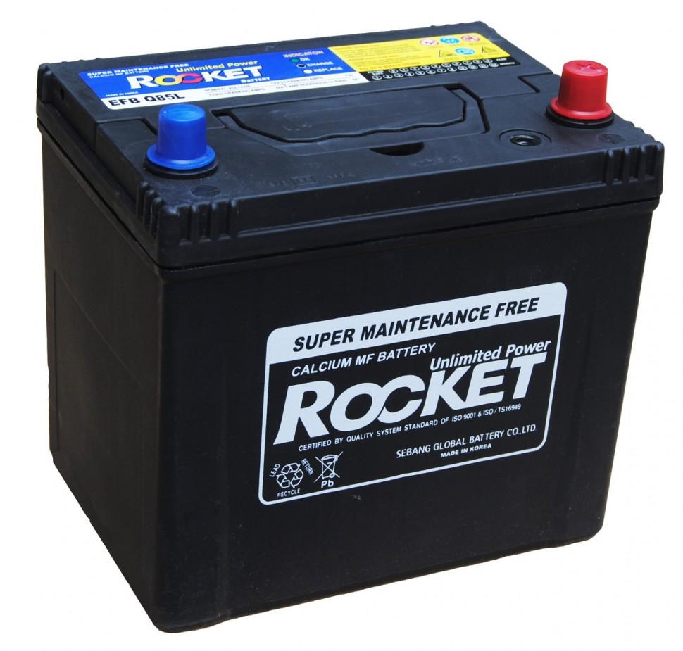Аккумулятор Rocket SMF +50 90 (100D26L) о (обратная полярность)нижнее крепление, Корея