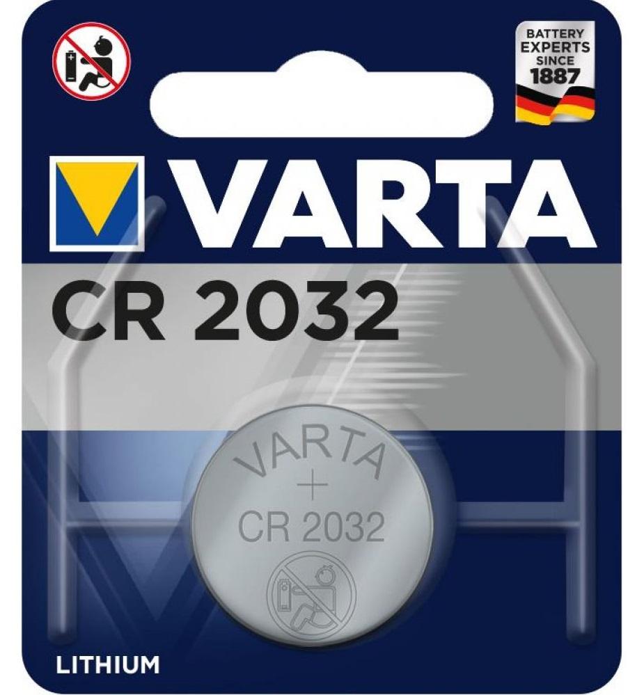VARTA, батарейка, CR 2032, (1шт)