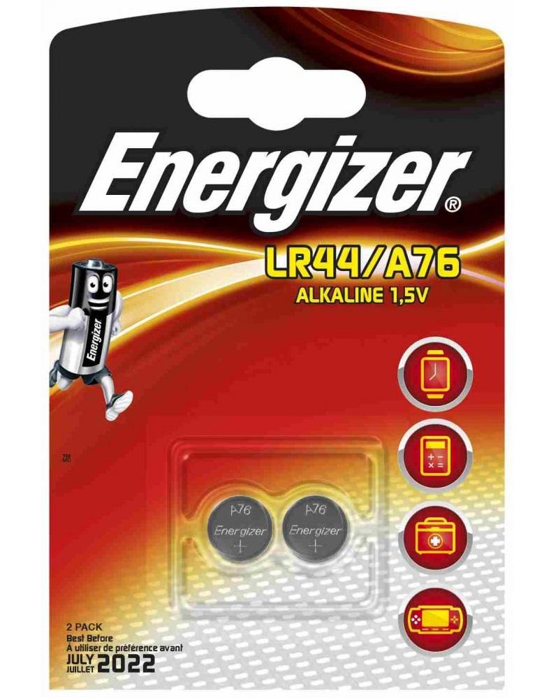 Energize Alkaline, LR 44 батарейка, 2шт, Сингапур