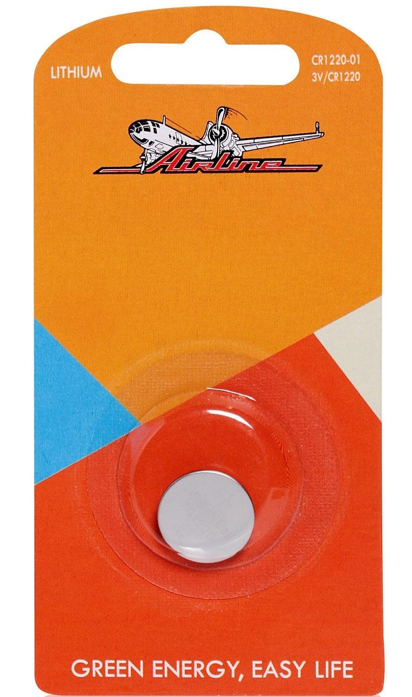 AIRLINE, Батарейка для брелоков сигнализаций, CR 1220 3V, (1шт.)