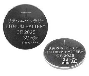 Rexant CR2025 (3V, 160 mAh), литиевая батарейка,1 ш. в блистере 5шт