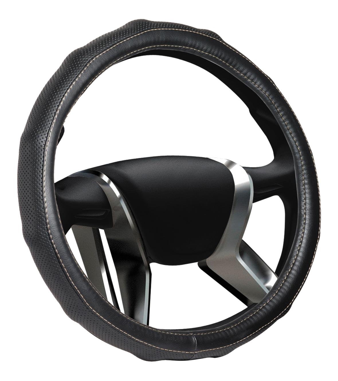 Azard, Оплетка на руль кожаная Senator California «М» (d-38см) Черный,  OPLS1301