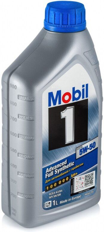 Mobil 1 FS, 5W50,  синтетика, 1л