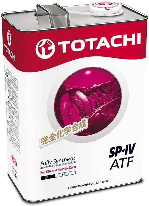 TOTACHI ATF SP-4,, масло для АКПП, синтетика, 4л, Япония