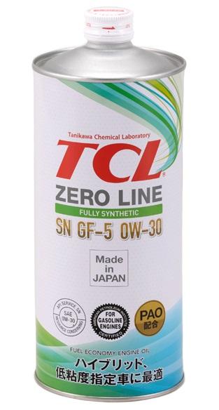 TCL Zero Line, 0W30, API SN/GF-5, моторное масло, синтетика, 1л, Япония