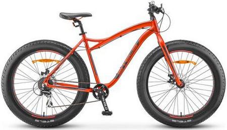 STELS Велосипед Aggressor 26» MD (18» Красный/серый), FAT BAKE арт. V010