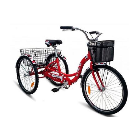 STELS Велосипед Energy-I 26» (16» Красный/белый), арт. V020