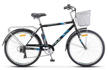 STELS Велосипед Navigator-250 Gent 26» (19» Серый), арт. Z010