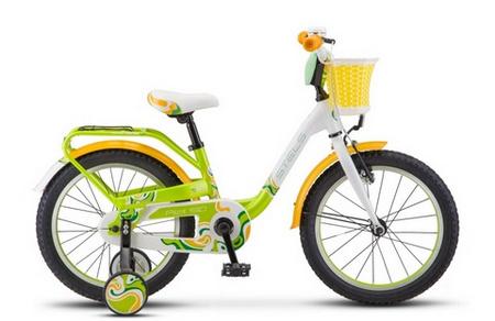 STELS Велосипед Pilot-190 18»  (9» Зеленый/жёлтый/белый), арт. V030
