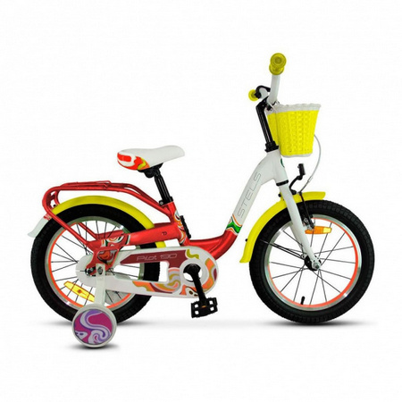 STELS Велосипед Pilot-190 18»  (9» Красный/жёлтый/белый), арт. V030