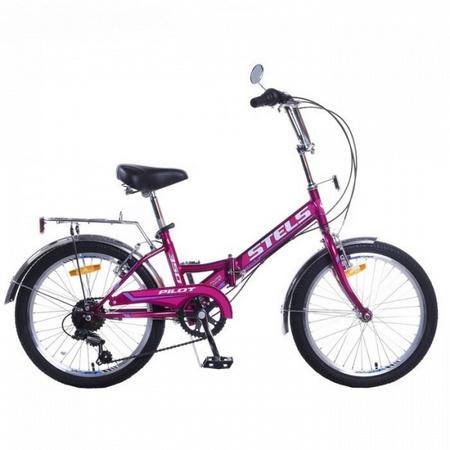 STELS Велосипед Pilot-350 20» (13» Фиолетовый), арт. Z011
