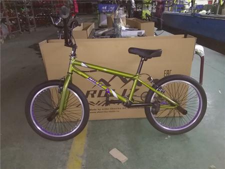 Велосипед  ROLIZ 20-109 зеленый BMX