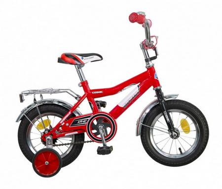 Велосипед NOVATRACK 12» COSMIC красный 123COSMIC.RD5 52484