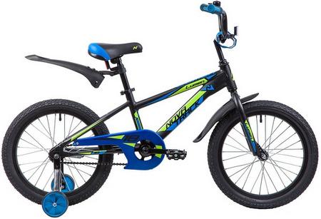 Велосипед NOVATRACK 18», LUMEN, алюм.,черн, тормоз нож, корот крылья, нет багаж.185ALUMEN.BK9 134010