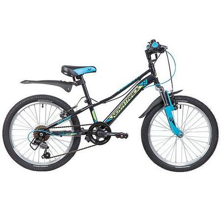 Велосипед NOVATRACK 18», VALIANT, черный, защита А-тип, тормоз нож, короткие крылья,нет багажн133931