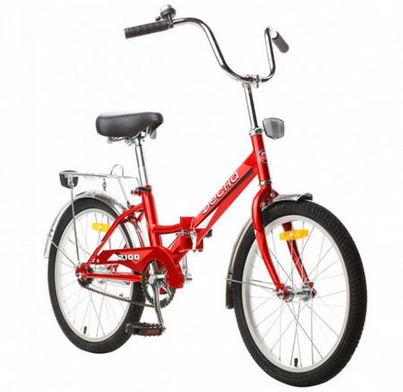 ДЕСНА-2100 Велосипед 20» (13» Красный), арт. Z011