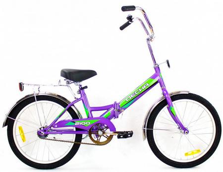 ДЕСНА-2100 Велосипед 20» (13» Лиловый), арт. Z011