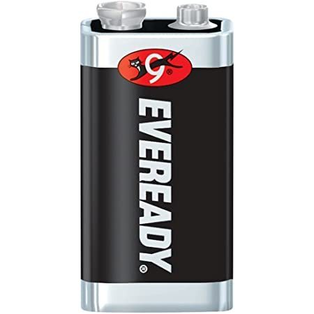 Energizer Eveready Super Heavy Duty 9V крона, Китай