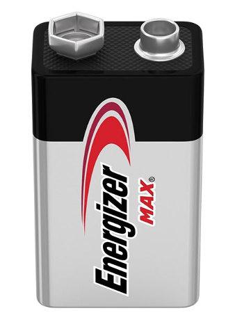 Energizer батарейка MAX 9V крона, Китай